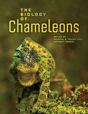 The Biology Of Chameleons By Krystal Tolley (English) Hardcover Book Free Shippi • 47.97£