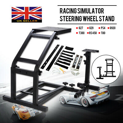 Racing Simulator Driving Steering Wheel Stand Pro For Logitech G29 G27 G25 G920 • 59.99£