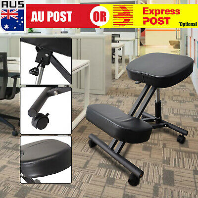 AU80.98 • Buy Kneeling Chair, Ergonomic Kneel Desk Chairs Typist Office Computer Home Physio -
