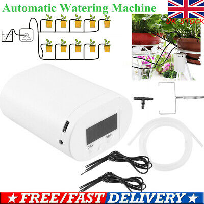 Smart Auto Watering Device For Plant Drip Irrigation Water Pump Timer System UK • 16.79£