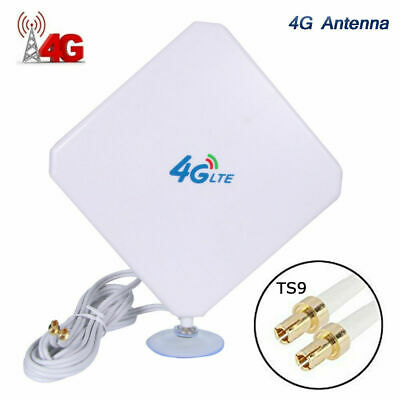 AU29.99 • Buy 35dBi 4G LTE Booster Ampllifier MIMO Antenna TS9 Telstra Optus For ZTE