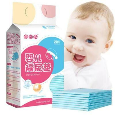 Baby Changing Pad Nursing Pad Waterproof Disposable Mattress Paper Diapers DS • 9.01£