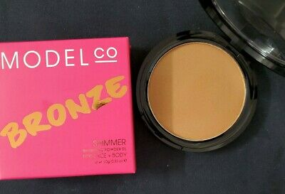 Model Co SHIMMER Bronzing Powder For Face Body Brand New In Box • 9.03£