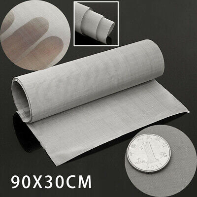 £6.85 • Buy 100Micron Mesh Stainless Steel Woven Wire Cloth Screen Filter Sheet 12'' X 35