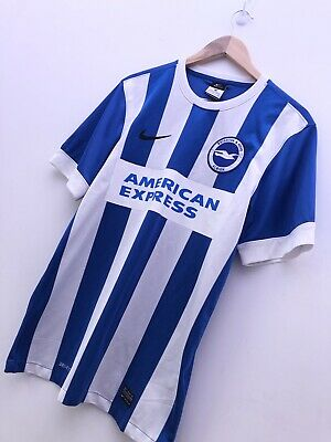 Brighton & Hove Albion 2014-15 Home Shirt Jersey Nike Size Small • 25£