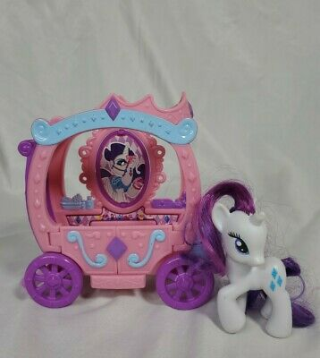 My Little Pony G4 Rarity's Gem Carriage And Pony • 7.15£
