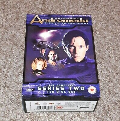 Andromeda - The Complete Series 2 Collection (DVD) • 15£
