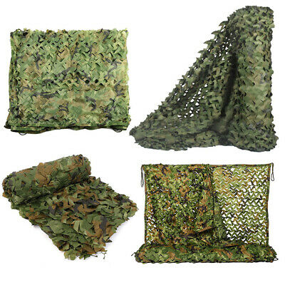 £12.95 • Buy Army Camo Net Bulk Roll Camouflage Netting Hunting Shooting Camping Hide Shelter