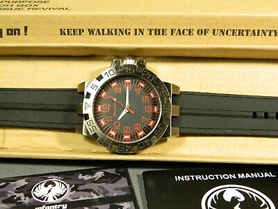 Men's Watch Infantry Watch Co. IF-008-R-R  INFILTRATOR  RED #s, RUBBER BAND • 4.42£