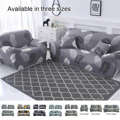AU14.49 • Buy Sofa Covers 1/2/3/4 Seater High Stretch Lounge Slipcover Protector Couch Cover
