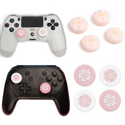 AU13.50 • Buy For Switch Pro PS4 Xbox ONE 360 Controller Accessories Thumb Stick Grip Cap 4pcs