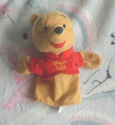 Marks And Speners  Disney Winnie The Pooh Hand Puppet  (R) • 5£