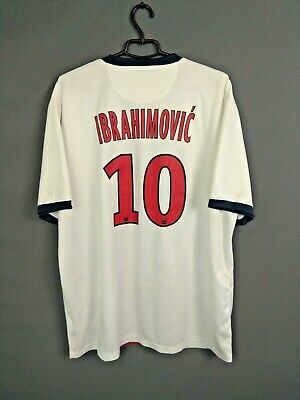 AU124.56 • Buy Ibrahimovic Paris Saint Germain Jersey 2013 2014 Shirt XXL Nike 544426-106 I93