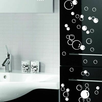 88 Bubbles Waterproof Wall Art Bathroom Window Shower Tile Decal Kid Stickers • 1.99£