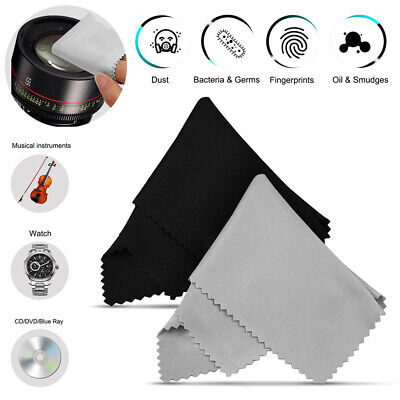 10Pcs Cleaning Cloth For Glasses Screen Sunglasses Phone Camera Lens UK • 2.32£