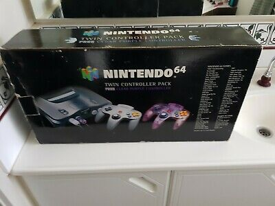 AU220 • Buy BOX ONLY Nintendo 64 Twin Controller Pack