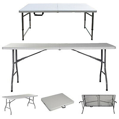 £30.90 • Buy 2ft 4ft 5ft Heavy Duty Folding Trestle Table Catering Camping Picnic BBQ Party
