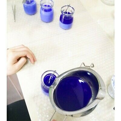 SALE DIY Wedding Scented Candle Stainless Steel Wax Melting Pot Double Boiler UK • 6.69£