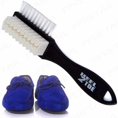 £2.75 • Buy SUEDE SHOE BRUSH Cleaning Double Sided Shoe Boot Dirt Cleaner Repair Restore