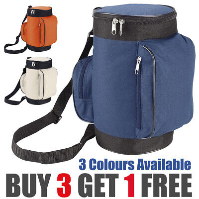 Cooling Cooler Cool Bag Box Golf Caddy Style Picnic Camping Food Ice Drink Lunch • 4.99£