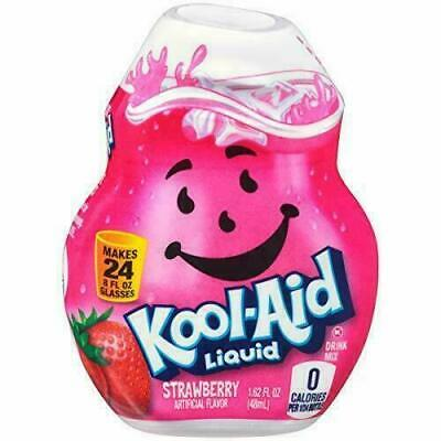 Kool-Aid Strawberry Flavored Liquid Drink Mix • 8.10£