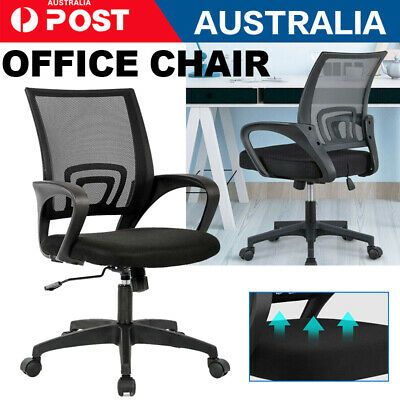 AU40.12 • Buy Office Chair Gaming Computer Chairs Mesh Back Executive Seating Study Seat NEW