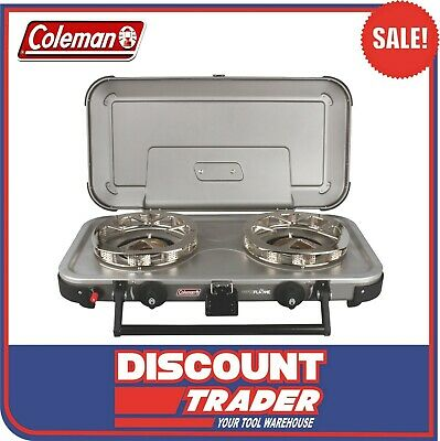 AU189 • Buy Coleman HYPERFLAME™ FYREKNIGHT™ 2 Burner Gas Cooking Camping Stove 1377539