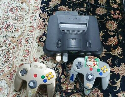 AU150 • Buy N64 Console Japanese With 2 Controllers & Games