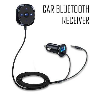 Bluetooth Audio Receiver Car MP3 Player AUX Adapter USB Charger FM Transmitter • 10.39£