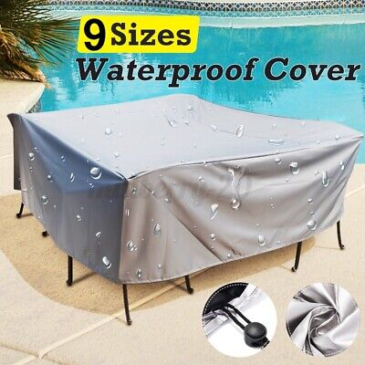 AU16.45 • Buy ❤Waterproof Outdoor Furniture Cover Yard UV Garden Table Chair Shelter Protector