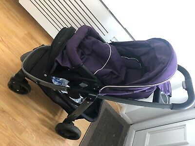 Graco Sky Purple Travel System (pushchair And Car Seat) • 70£