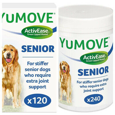 Lintbells YuMOVE SENIOR Dog Joint Supplement For Stiff And Older Dogs Tabs • 19.97£