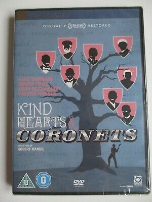 Kind Hearts And Coronets (1949) New & Sealed DVD, Alec Guinness, Ealing Studios • 5.99£