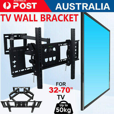 AU38.05 • Buy TV Wall Mount Bracket Full Motion Tilt Swivel Pivot 32 40 43 50 55 60 65 70 Inch