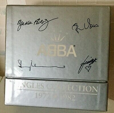 ABBA - Singles Collection -27 Disc Limited Edition Boxset - Near Mint Condition! • 49.99£