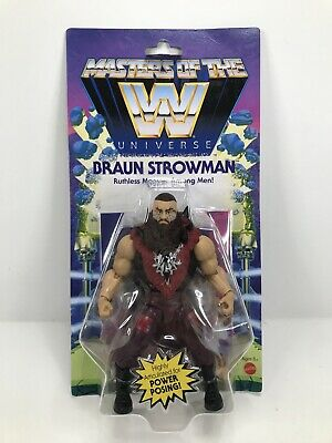 $21.95 • Buy WWE Masters Of The Universe BRAUN STROWMAN Action Figure MOTU 2020 NEW Wave 3