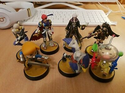 AU100 • Buy 7 X Nintendo Amiibo Lot Super Smash Bros Shulk Falcon Olamar