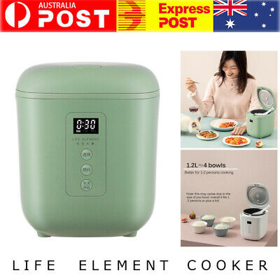 AU105.36 • Buy Electric Rice Cooker 1.2L Portable Mini Small Rice Cook 3 Cups For 1-2 Person AU