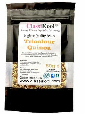 £3.99 • Buy Classikool Tricolour Quinoa Seeds For Nutritional Cooking, Baking, Salad, Cereal