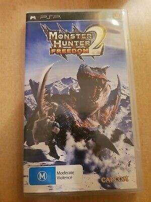AU35 • Buy Monster Hunter Freedom 2 Sony Playstation Portable PSP Game