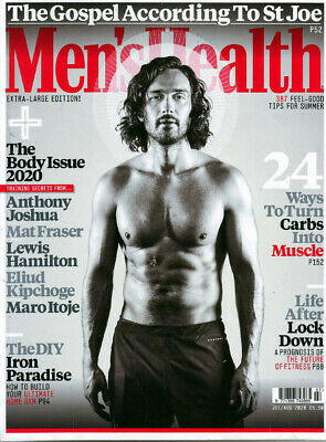 Mens Health Magazine July/August   2020 • 5.99£