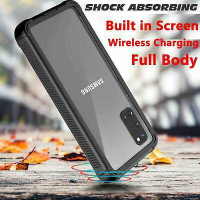 AU21.29 • Buy Shockproof Full Body 360 Protection Case Cover For Samsung Galaxy S20 S10 S9 S8