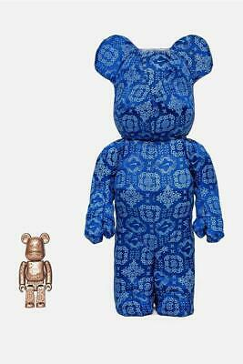 $840 • Buy Medicom Toy CLOT X NIKE BE@RBRICK Bearbrick 100% & 400% Figure Japan F/S Rare