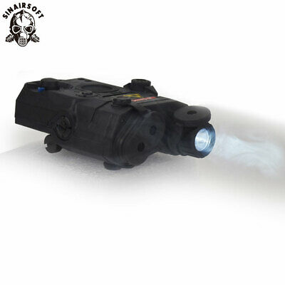 FMA Tactical PEQ-15 LED White Light Red Laser With IR Lens Torch Upgrade Version • 27.99£