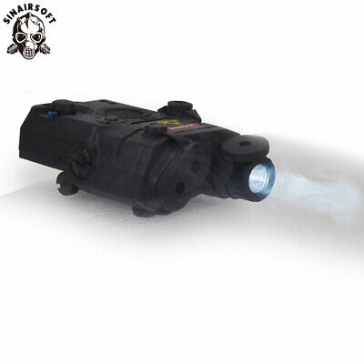 £29.99 • Buy Tactical PEQ-15 Red Laser IR Lens LED White Light Sight Airsoft Flashlight Torch