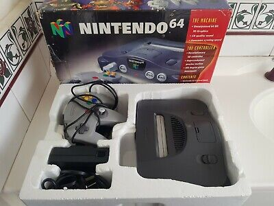 AU350 • Buy Nintendo 64 Console N64 Boxed Genuine AUS PAL Tested Working Free Tracked Post
