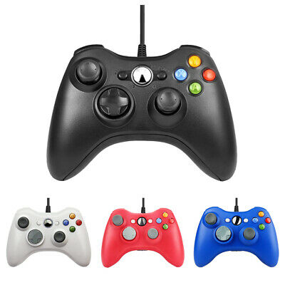 AU28.99 • Buy 1/2X Wired Games Controller Gamepad Joystick Joypad For Microsoft Xbox 360/PC360