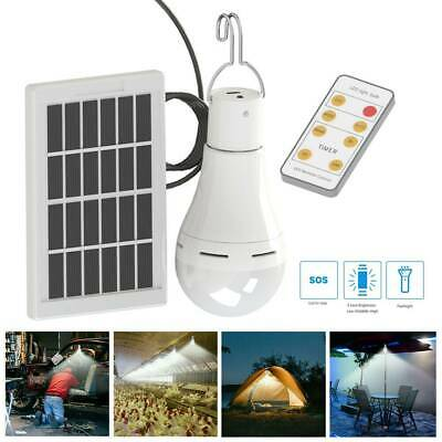 AU25.02 • Buy 9W LED Shed Solar Camping Light Outdoor Lamp Tent Latern Bulbs Remote Control