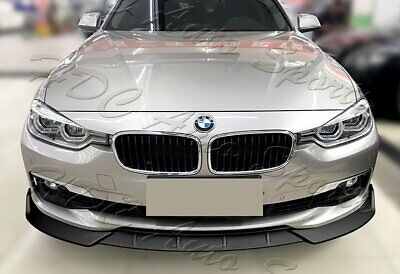 AU60.29 • Buy For 16-19 BMW 320i 328i 330i F30 F35 Matt Black Front Bumper Body Kit Lip 3PC