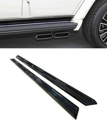 $ CDN1699 • Buy G Wagon Mansory Style Carbon Fiber Lower Moldings Side Skirts Mercedes W463